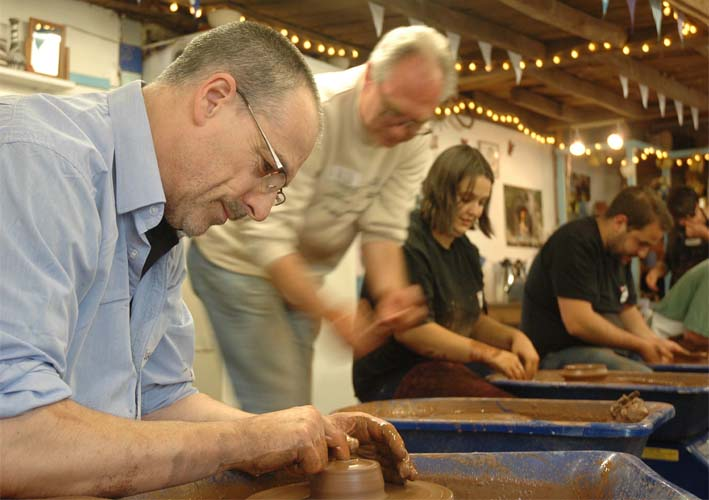 Eastnor Pottery is releasing new dates for One Day and Weekend Potter's Wheel Workshop courses