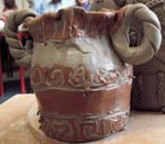 Holmer Primary School and Eastnor Pottery work together to make greek themed pottery