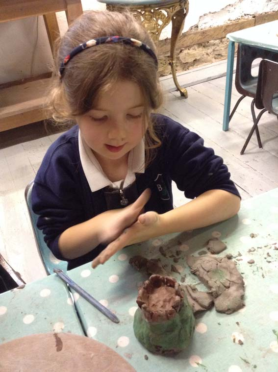 Leigh and Bransford Primary School at Eastnor Pottery