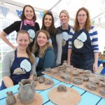 pottery wheel hen party activity in herefordshire