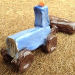 clay models made by ledbury young farmers at eastnor pottery2