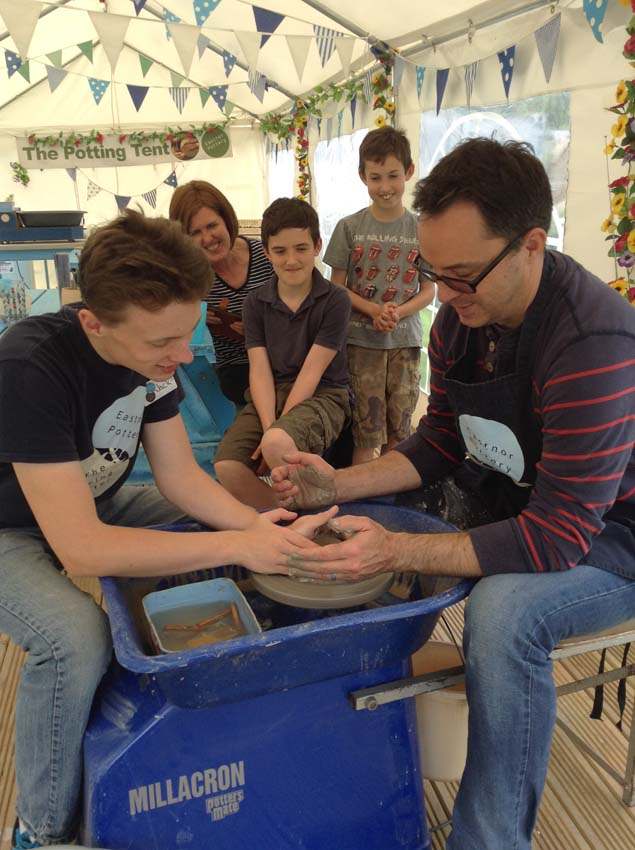 Community apprentice job opportunity at Eastnor Pottery West Midlands