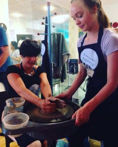 Hereford YR10 work experience placement at Eastnor Pottery