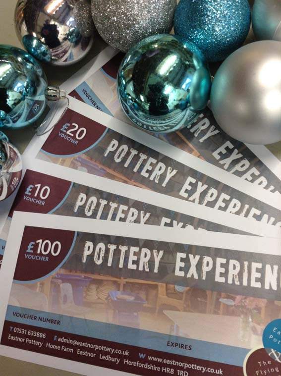 Experience the potter's wheel vouchers