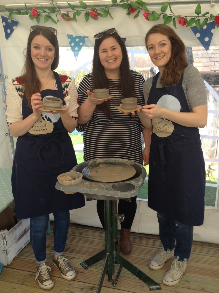 Participants from Hey Clay 2017 at Eastnor Pottery
