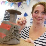 creative hens at Eastnor Pottery