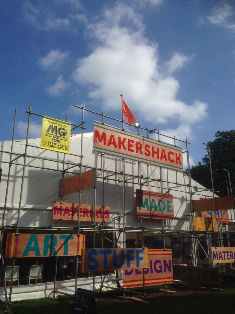 MakerShack frontage at Cheltfest