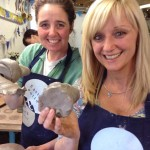 Celebration for 50th birthday at Eastnor Pottery