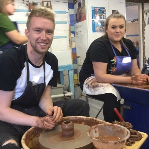 making pottery at eastnor pottery near great malvern