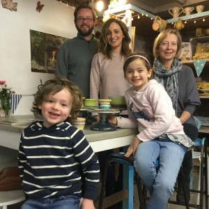 quality family time activity making pots on the potter's wheel at Eastnor Pottery herefordshire