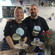 satisfied customers review their experience at eastnor pottery and the flying potter