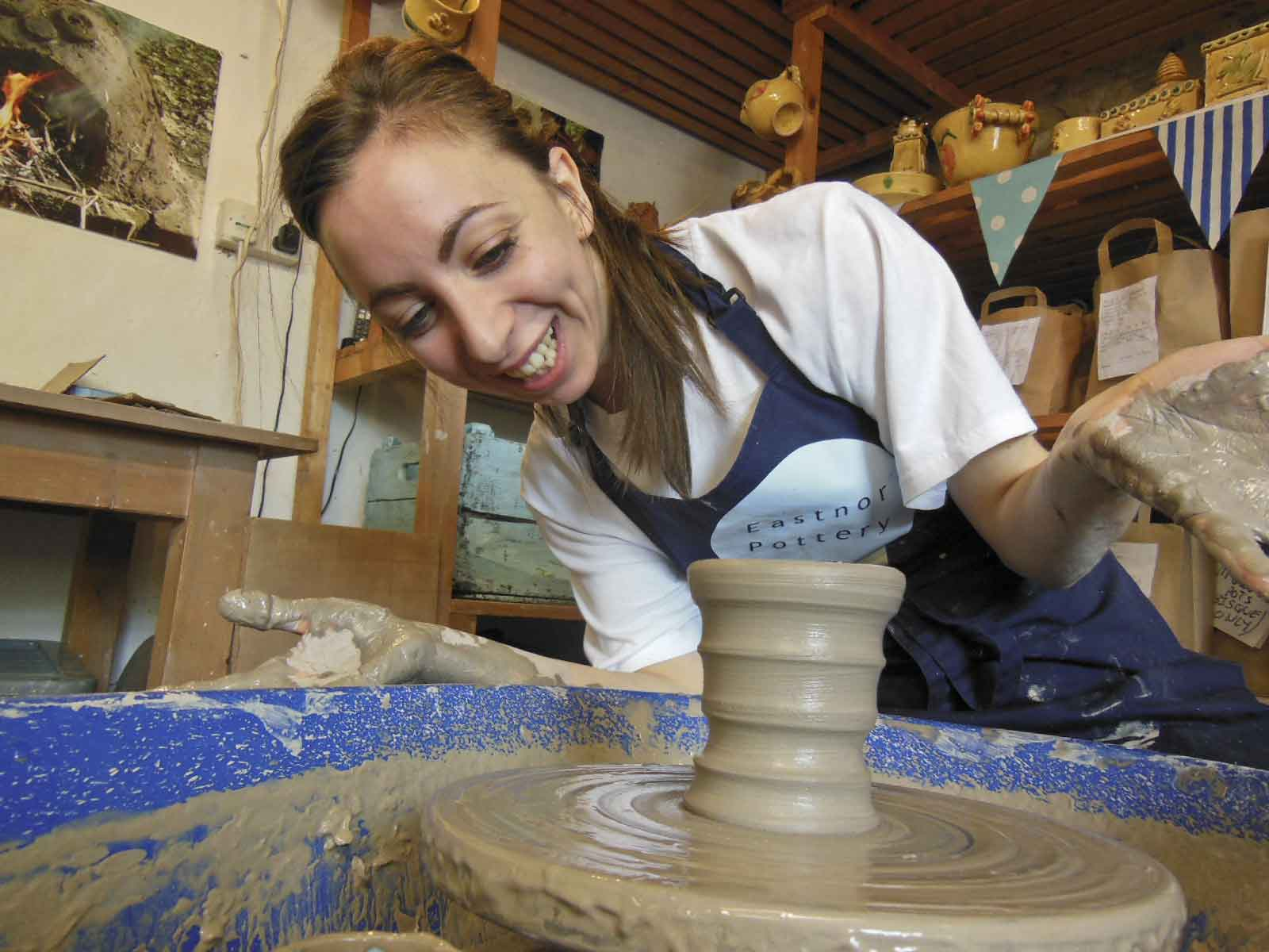 Eastnor Pottery for Beginners