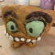 clay monster made at eastnor pottery in the west midlands