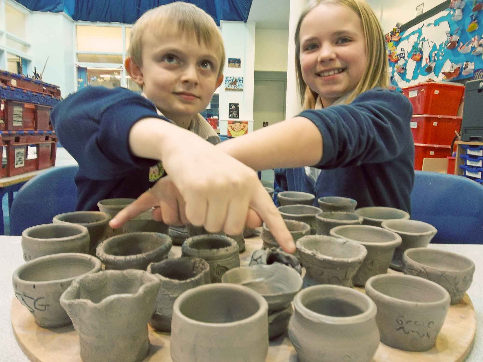 Pottery Workshops for Primary Schools
