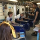 jon the potter leading team building activity at eastnor pottery nr the malvern hills