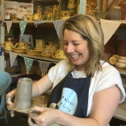 potters wheel fun in herefordshire