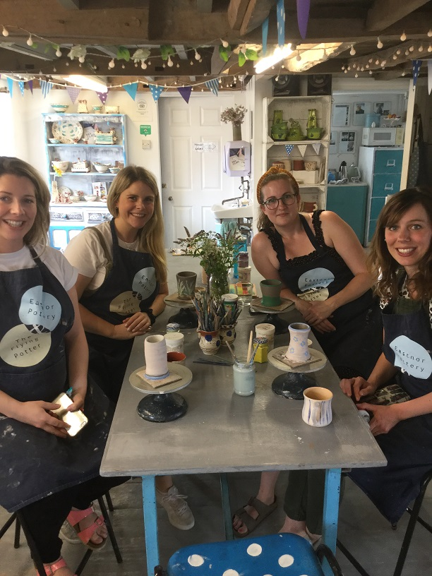 short pottery classes in herefordshire