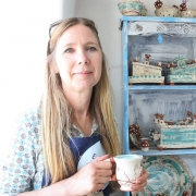 sarah monk from eastnor pottery