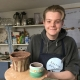 cheltenham 6th former does work experience at eastnor pottery in herefordshire