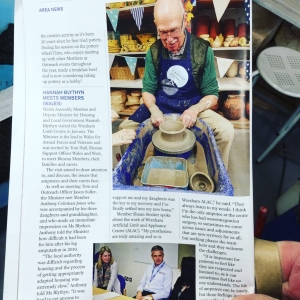 BLESMA magazine for serving and ex service men and women who have lost limbs and eye sight