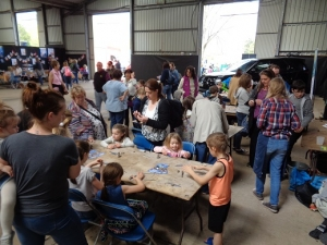mobile pottery studio by eastnor pottery and the flying potter at countrytastic 2019