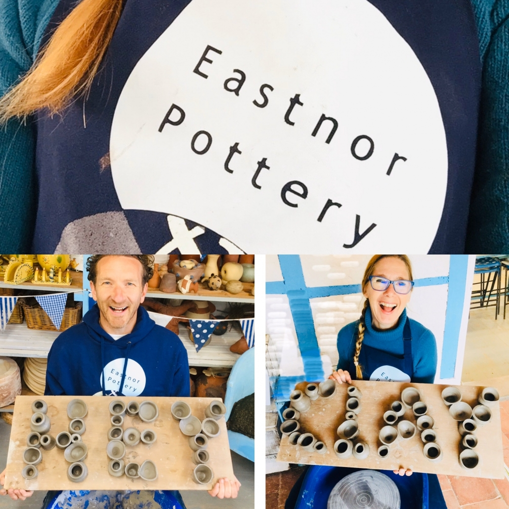 ceramic artists jon williams and sarah monk take part in the digital hey clay festival 2020