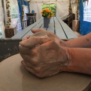 potters hands at eastnor pottery