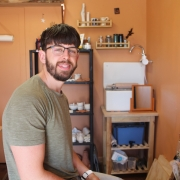ex eastnor pottery apprentice ethan powell