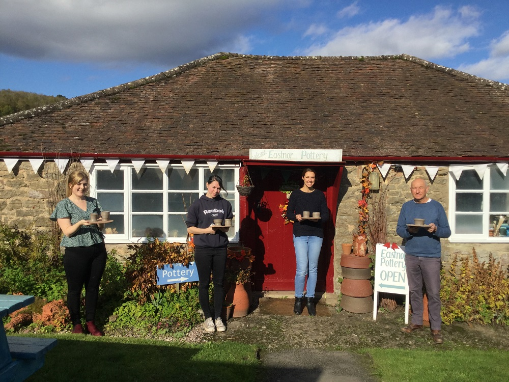 roger oats designs teambuilding at eastnor pottery morning group