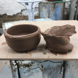 wobbly pots at eastnor pottery