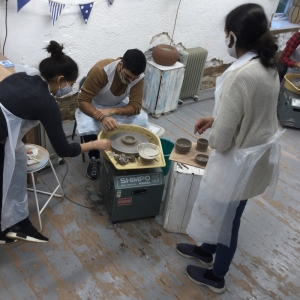 pottery workshop for grown-up children