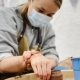 surprise birthday pottery session in the heart of the uk