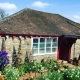 the spring garden at eastnor pottery herefordshire