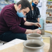 superb pottery skills at eastnor pottery